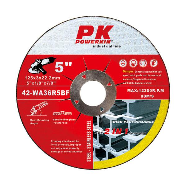 樹脂結合劑砂輪 125x3x22.2 mm