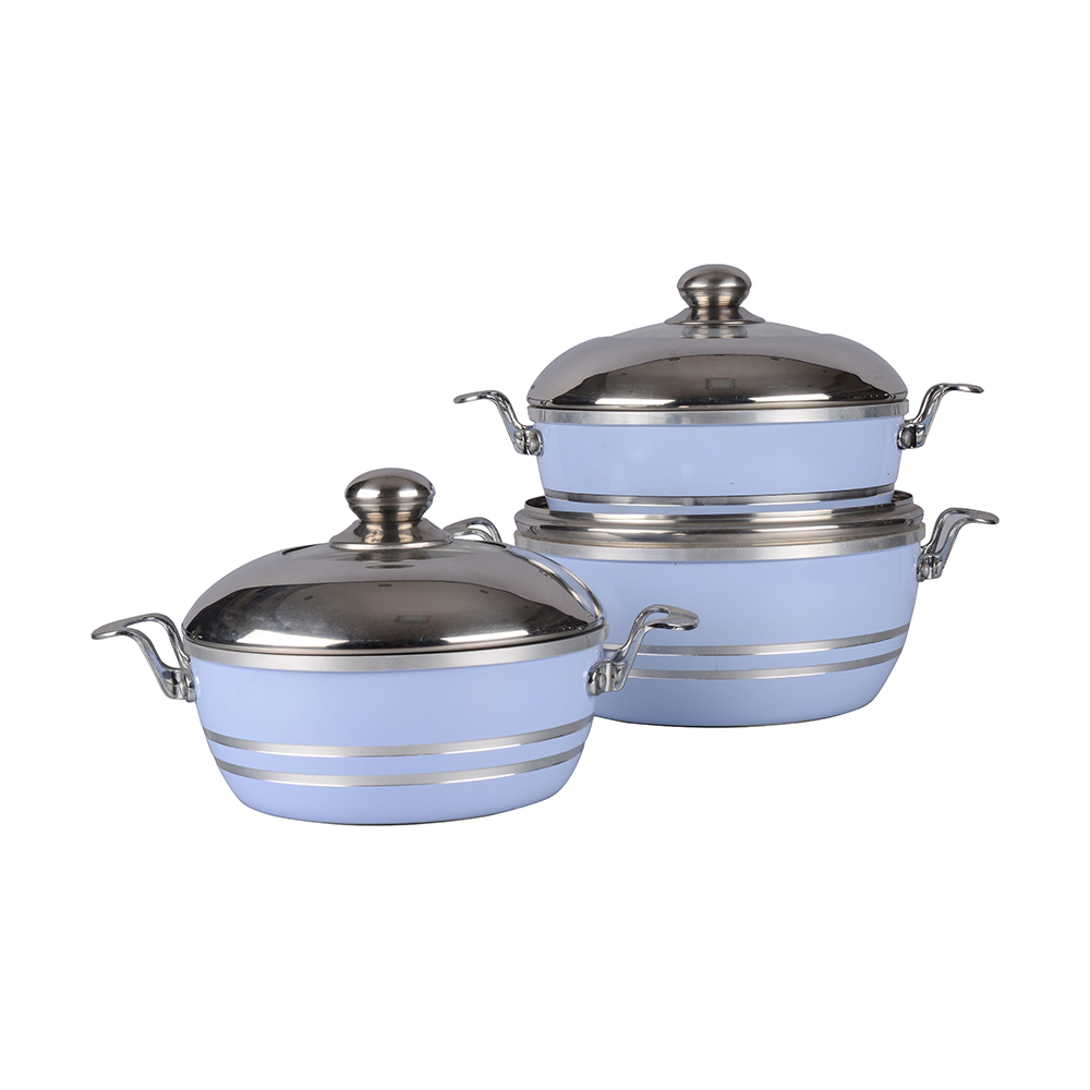 Press aluminum cookware