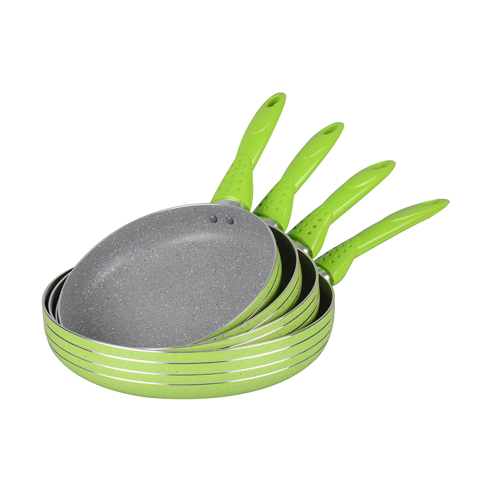 Press aluminum fry pan