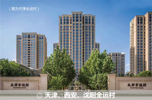 天津、西安、沈陽全運村