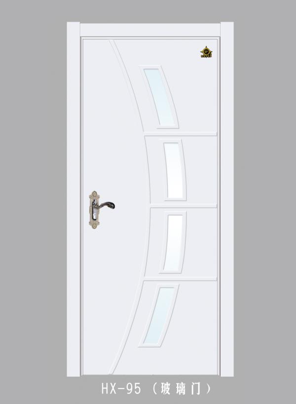實木玻璃花窗門
