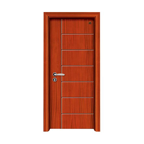 实木油漆套装门 HT-SB-18楸木
