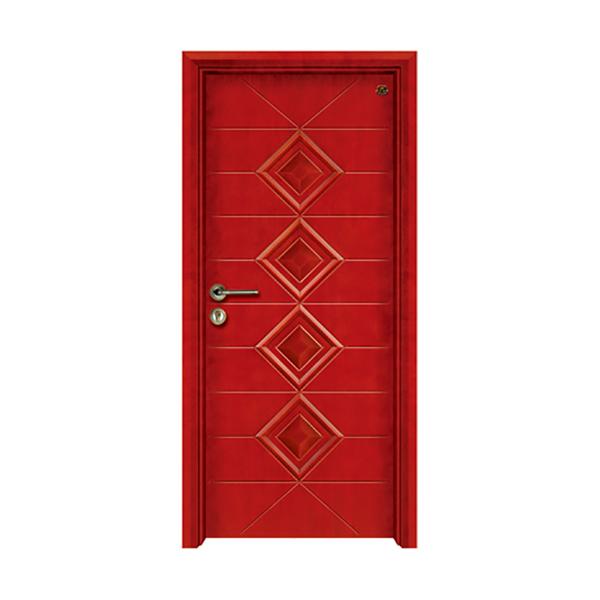 实木油漆套装门 HT-SA-115红樱桃