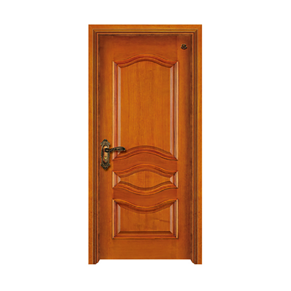 实木油漆套装门 HT-SA-114水曲柳开放式