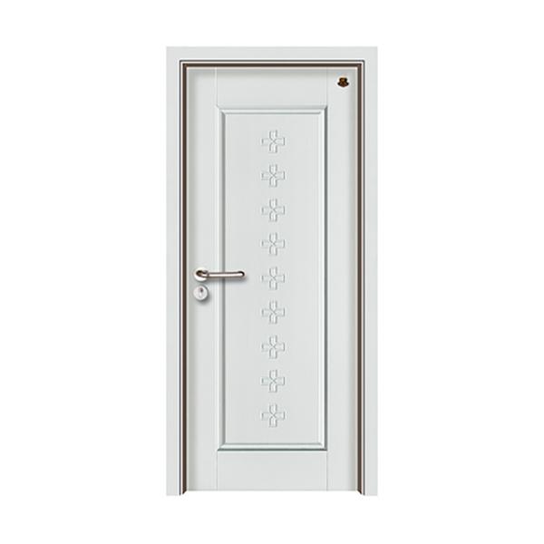 实木油漆套装门 HT-SB-9纯白