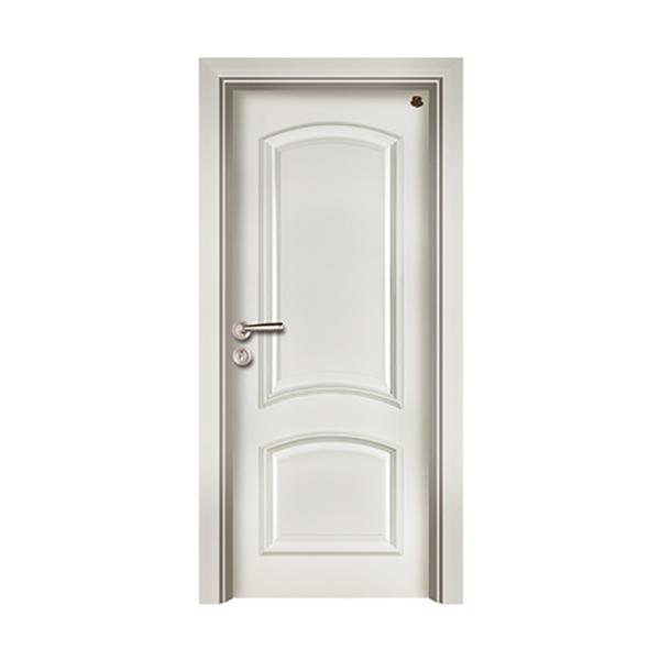 实木油漆套装门 HT-SB-8纯白