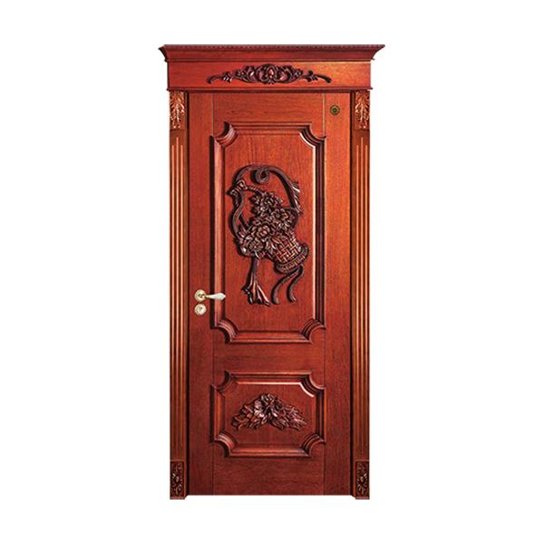 实木油漆套装门 GLL-S-1608HH水曲柳仿古