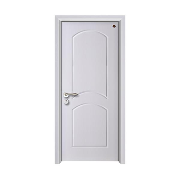 实木油漆套装门 HT-SB-24纯白开放