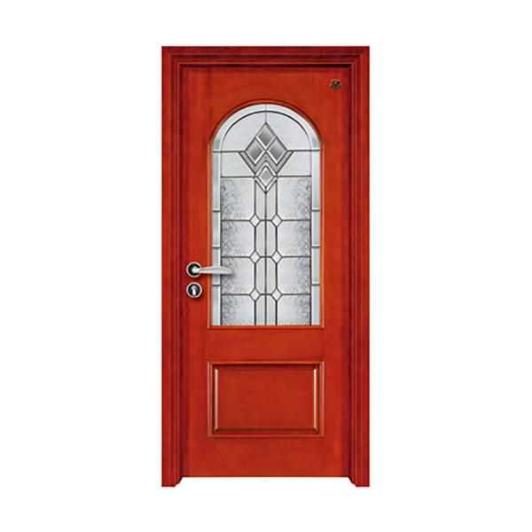 实木油漆套装门 HT-SA-9红樱桃