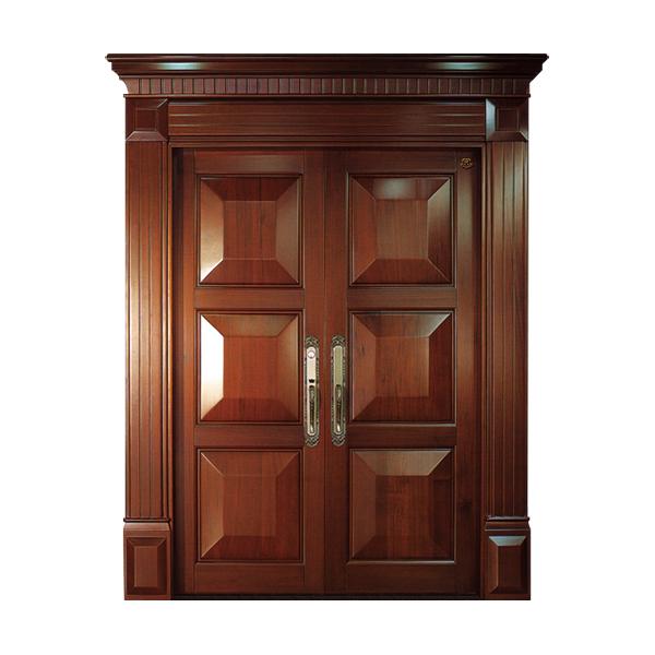 实木油漆套装门 HT-SC-909
