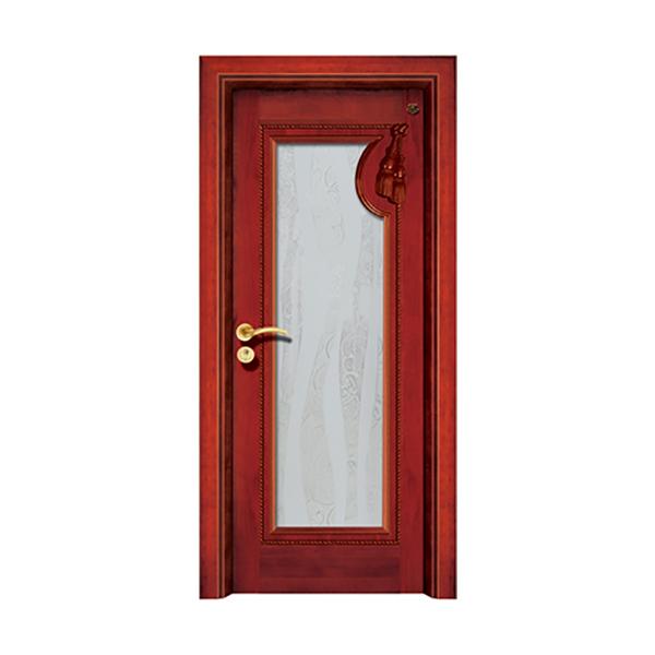 实木油漆套装门 HT-SC-202楸木