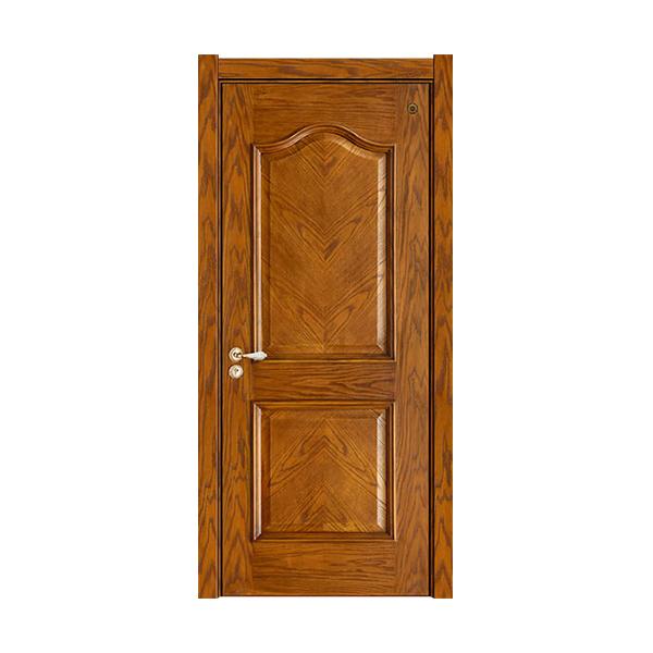 实木油漆套装门 GLL-S-1621QMA橡木仿古