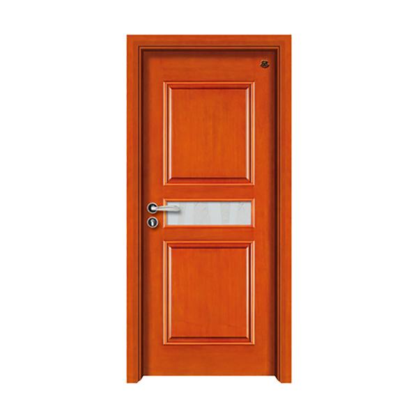 实木油漆套装门 HT-SC-114水曲柳