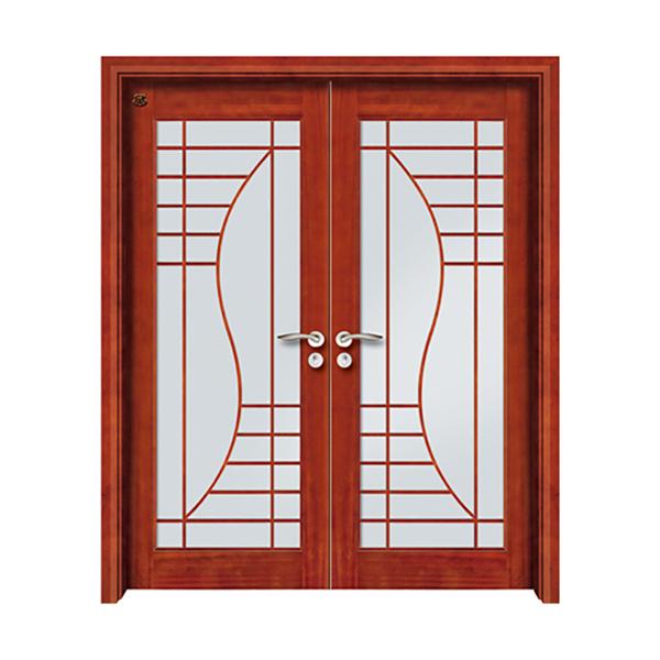 实木油漆套装门 HT-SD-803沙比利