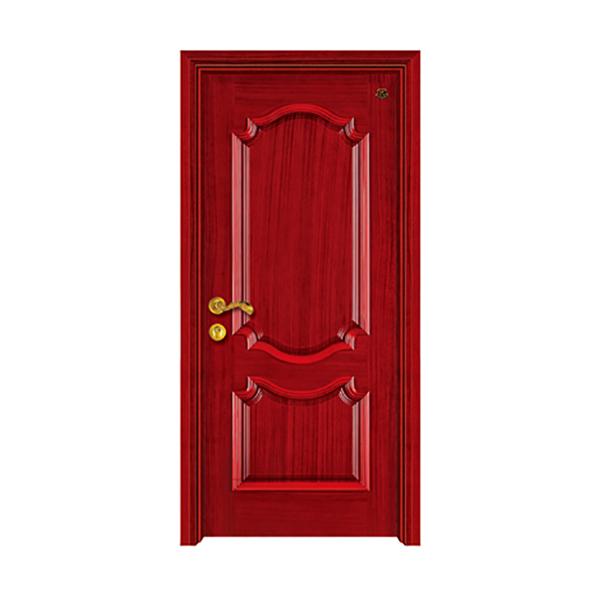 实木油漆套装门 HT-ST-004沙比利仿古