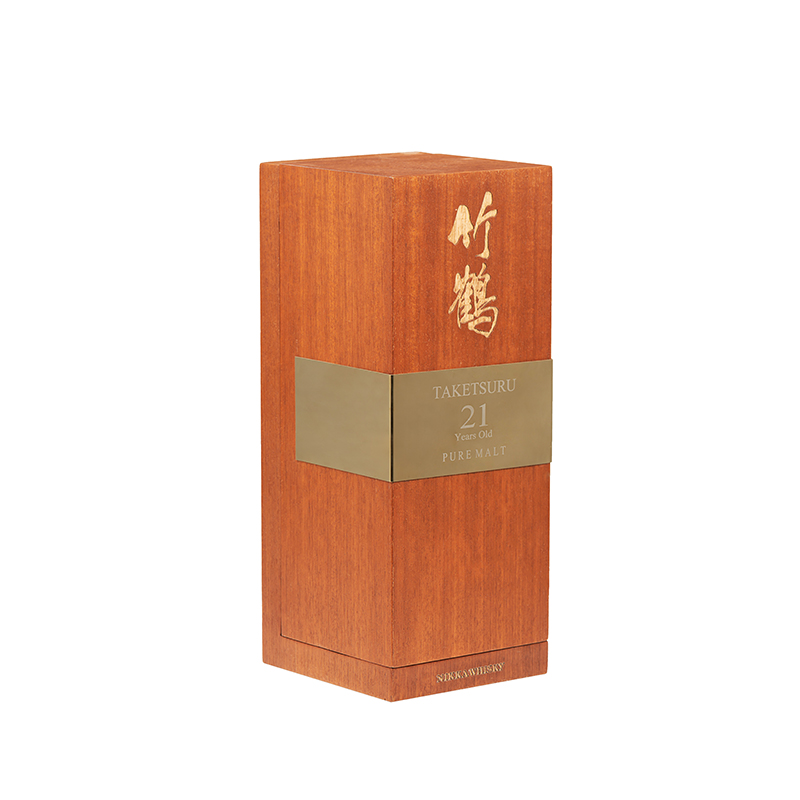 Cutom Matt Lacquered Wooden Tea Packaging Box With MirrorNone