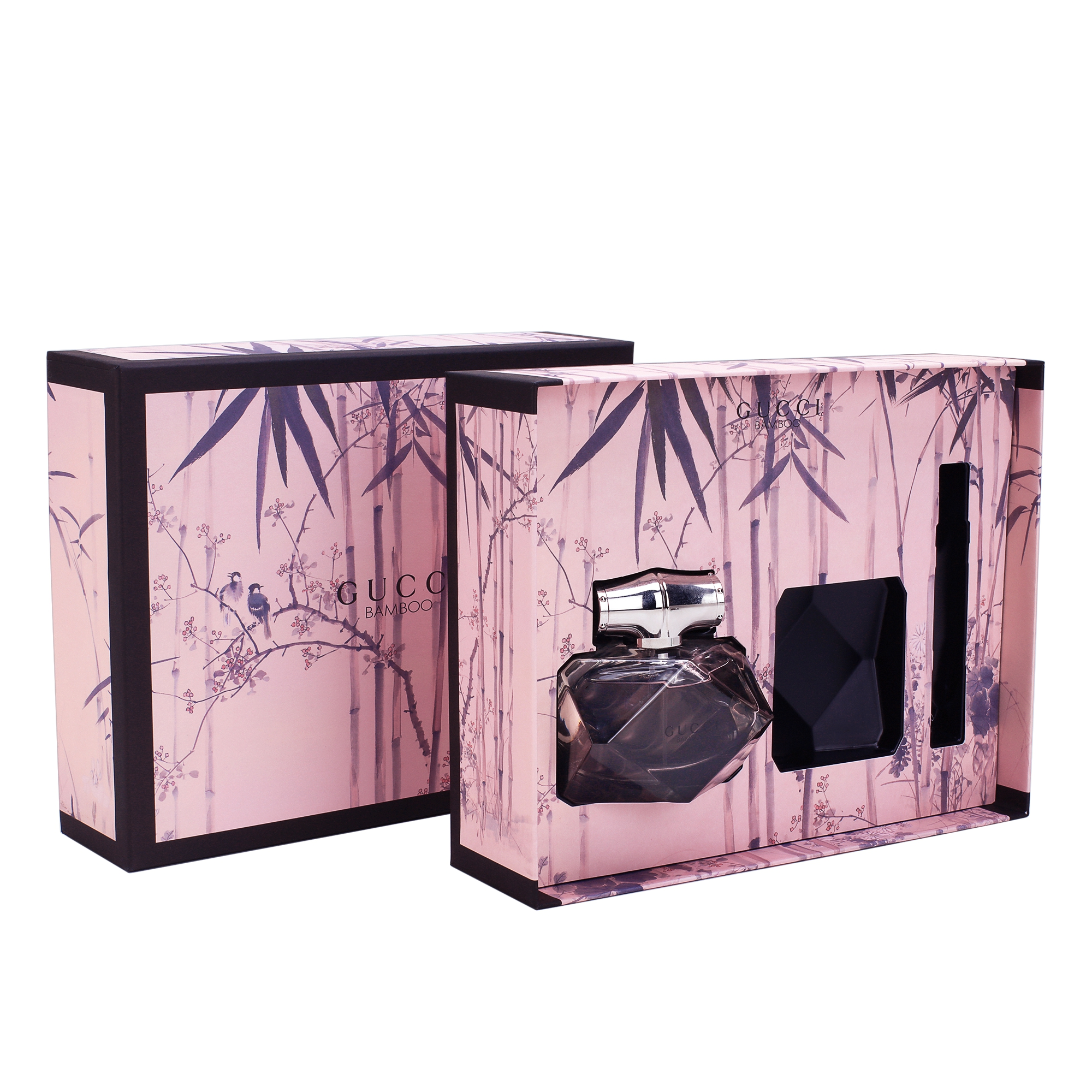 Handmade Printed Cardboard Gift Packaging Box For Perfume None