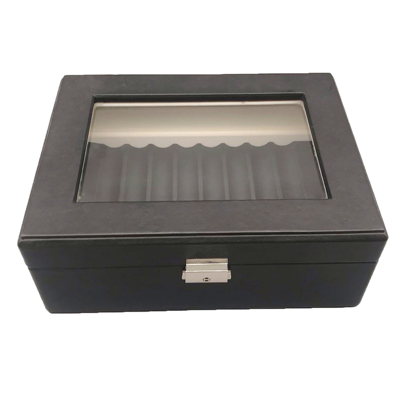Hot Sale Custom Wooden Cigar Storage Packaging Box With MirrorNone