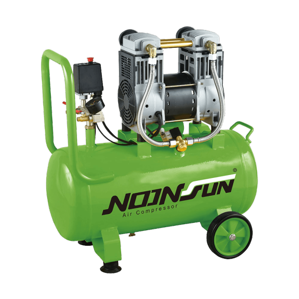 Oil Free & Ultra Silent Series Of Portable Air Compressor (Piston Reciprocating Type) NS-1600A-1050