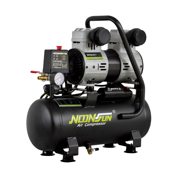 Oil Free & Ultra Silent Series Of Portable Air Compressor (Piston Reciprocating Type) NS-1200RA-1015