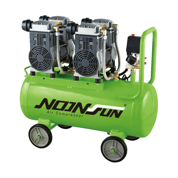Oil Free & Ultra Silent Series Of Portable Air Compressor (Piston Reciprocating Type) NS-1600A-2070