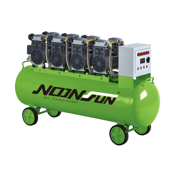 Oil Free & Ultra Silent Series Of Portable Air Compressor (Piston Reciprocating Type) NS-1600A-40200