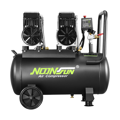 Oil Free & Ultra Silent Series Of Portable Air Compressor (Piston Reciprocating Type) NS-980A-2050