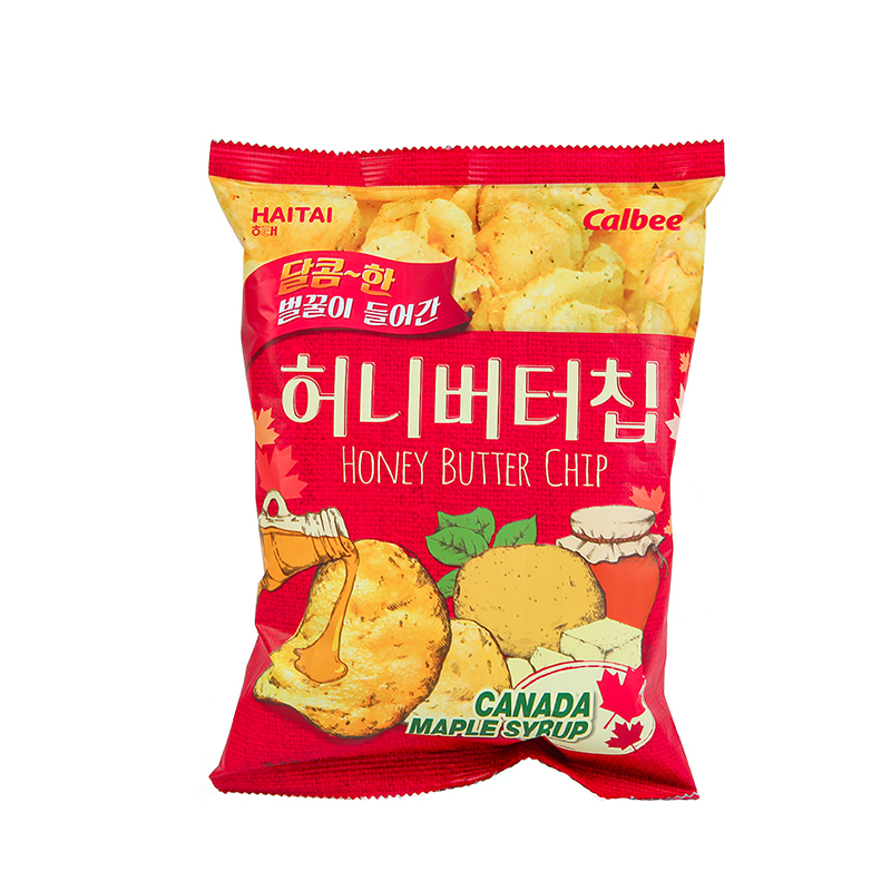 Honey Butter Chip (Puffed Food)