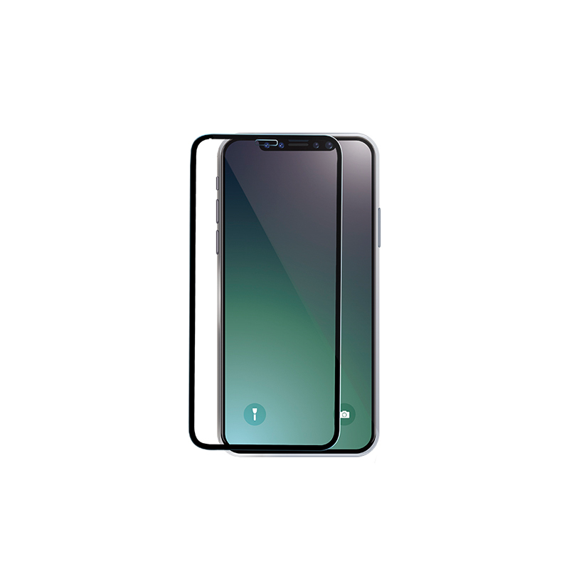 Full screen 2.5D toughened glass film iphoneX Black