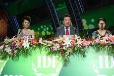 石定寰參事出席2013綠色設計國際大獎頒獎典禮致辭