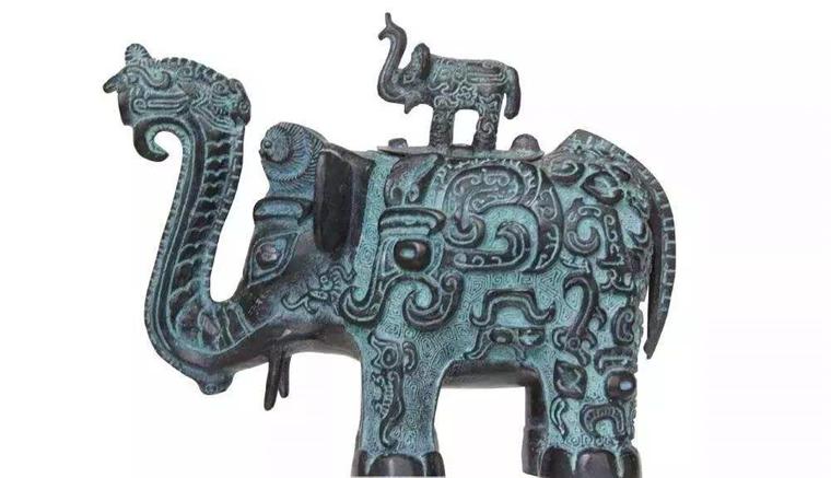 铜雕雕塑厂家神雕雕塑工艺有限公司:铜雕使用艺术的杰作--商代铜象尊
