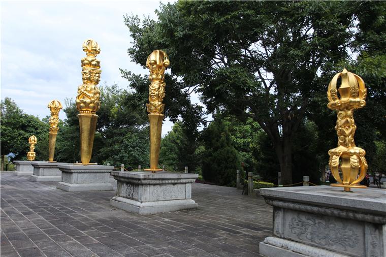宗教雕塑厂家神雕公司:何为金刚杵?