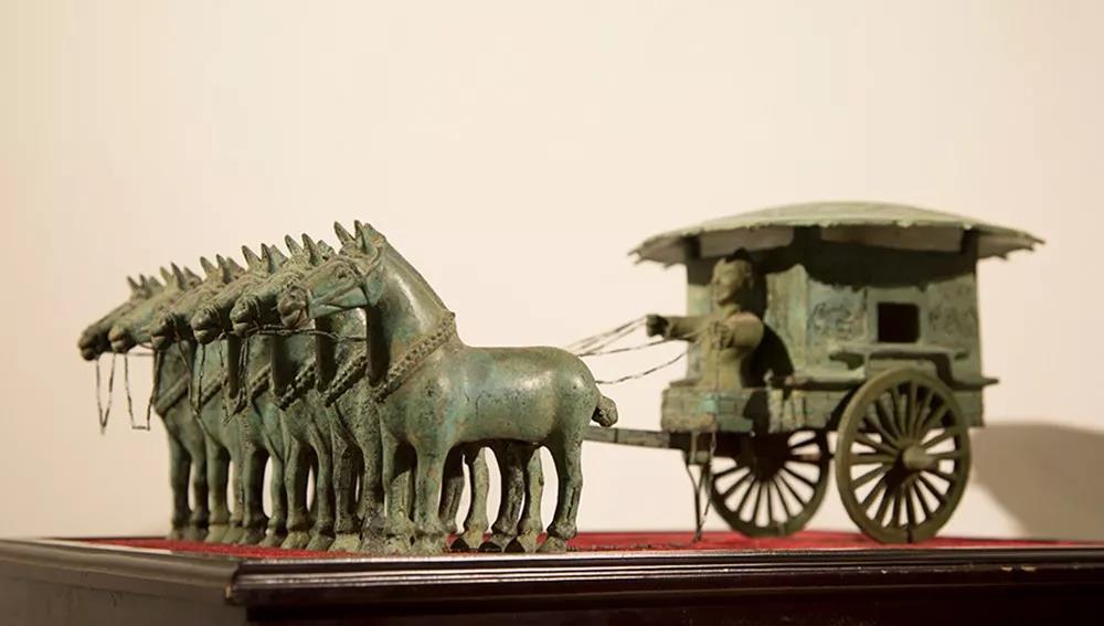 """你见过2200多年前的""""豪车""""吗?神雕铜文化博物馆带你开眼界……"""