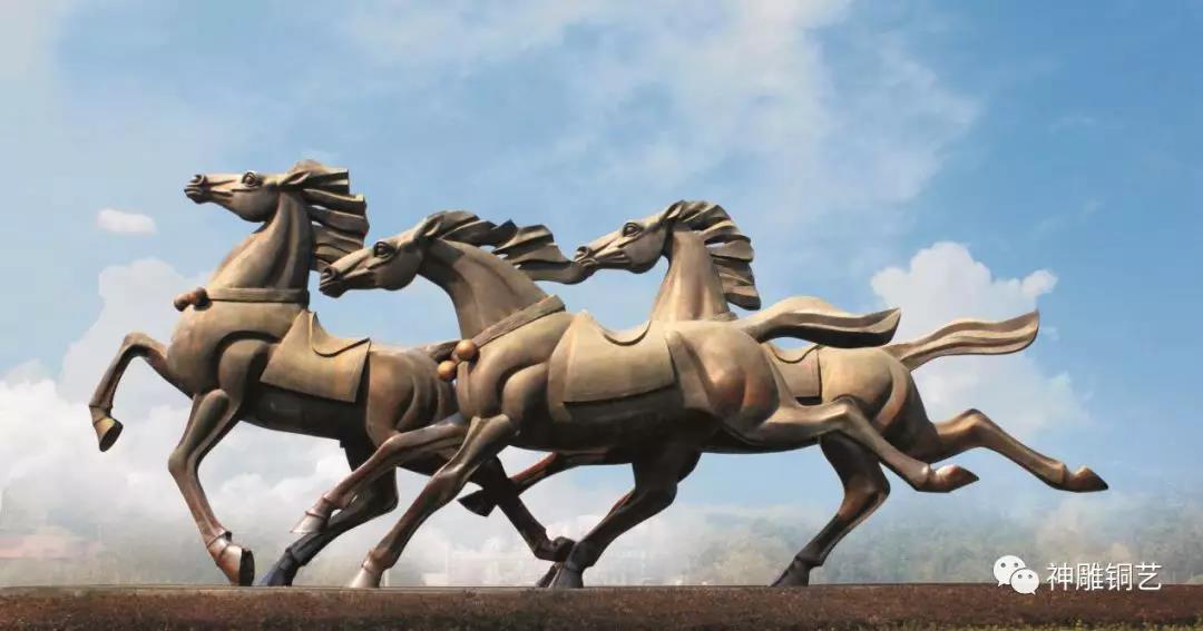 奔腾于永康西城口的那三匹骏马,你知道它们的来历吗?