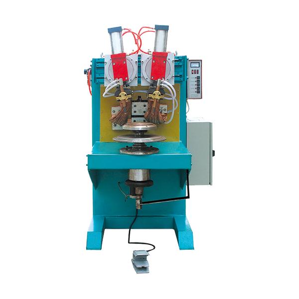 单面双点节能锅焊接专机