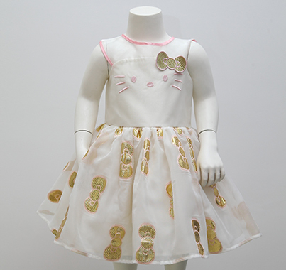 無袖連衣裙