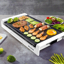 Structural characteristics of electric baking pan