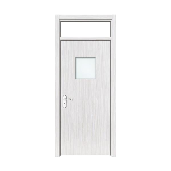 玻璃工艺门 SS-MR-8007_学校门(铁刀银丝)