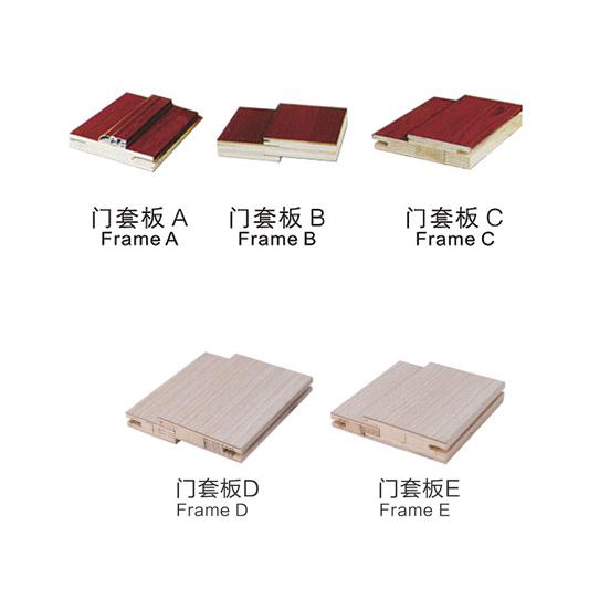 强化烤漆木门可选套线/套板2 强化烤漆木门可选套线/套板2