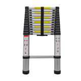 aluminium telescopic ladder with soft close design