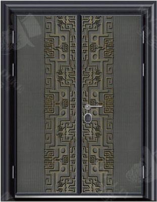 豪華鑄銅/鑄鋁門 GJ-18650