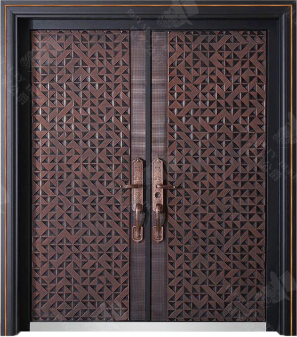 豪華鑄銅/鑄鋁門 GJ-18630