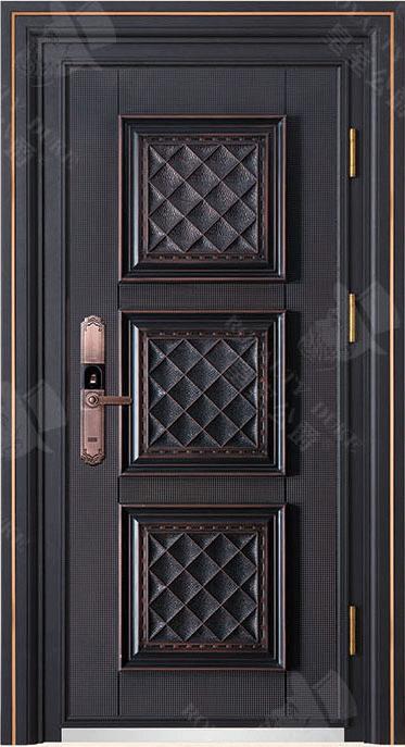 豪華鑄銅/鑄鋁門 GJ-18658