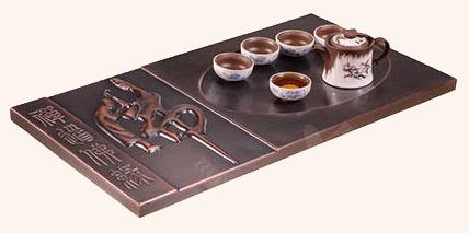豪華銅茶盤 GJ-TCJ11
