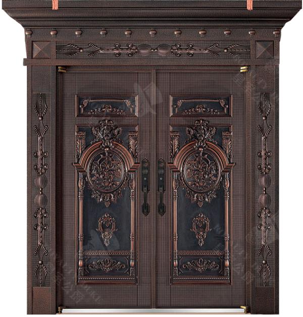 豪華鑄銅/鑄鋁門 GJ-18617