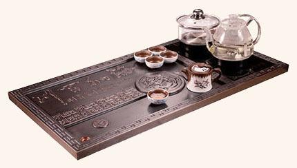 豪華銅茶盤 GJ-TCJ09
