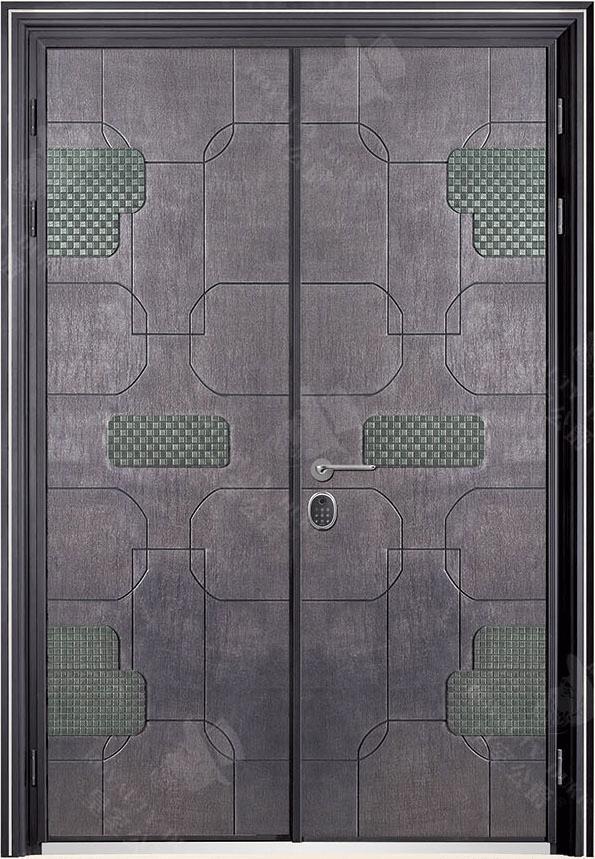 豪華鑄銅/鑄鋁門 GJ-18633