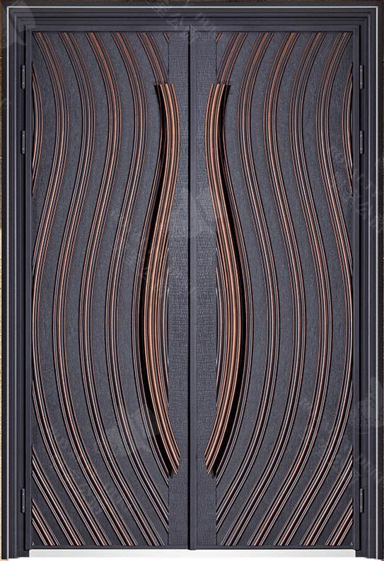 豪華鑄銅/鑄鋁門 GJ-18632