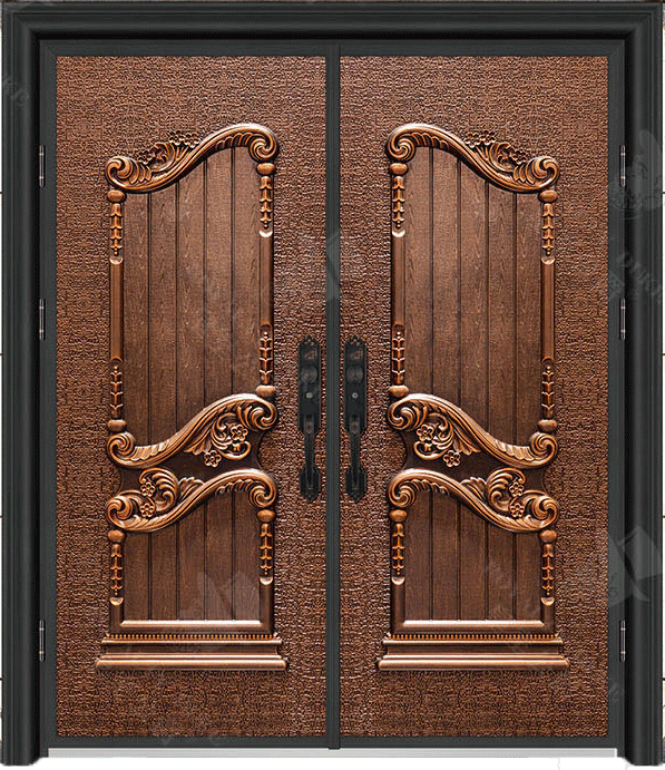豪華鑄銅/鑄鋁門 GJ-18627