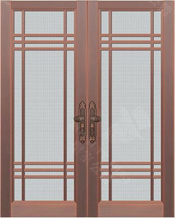 豪華銅紗門 GJ-TSM02